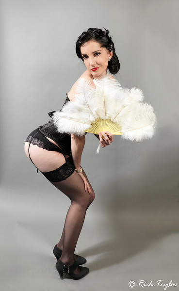 """Bonnie Petite """"Feathers & Pearls"""""""