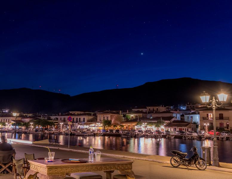 An evening in Galaxidi
