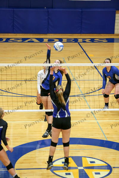 JV Volleyball vs Martin County West 9/28/17