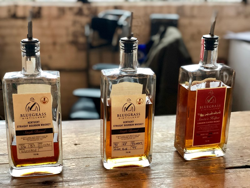 Bourbons of Bluegrass Distillers