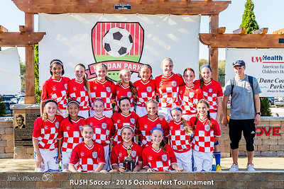 Youth Soccer - RUSH [d] Oct 11, 2015 Awards