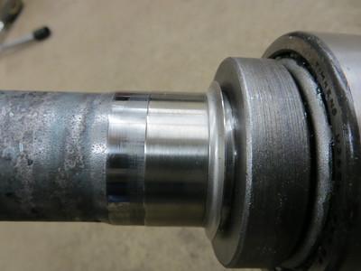 2nd axle wheel bearing