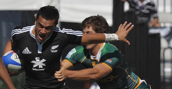 2010 RUGBY LAS VEGAS NEW ZEALAND VS SOUTH AFRICA