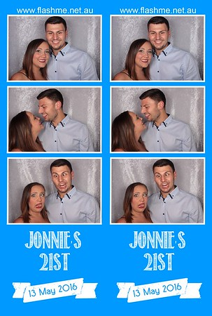 Jonnie's 21st - 13 May 2016
