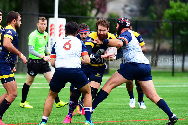 Gotham Knights vs New York Rugby Club, October 13, 2018