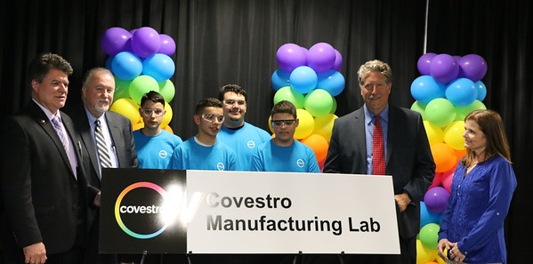Covestro Lab Unveiling