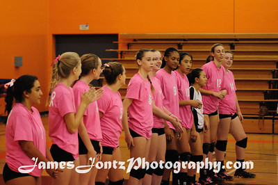 2013 Girls Volleyball vs La Canada