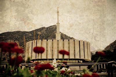 Provo Utah LDS Temple Prints