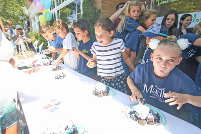 2019 Spring Lake Sidewalk Sale and Donut eating contest