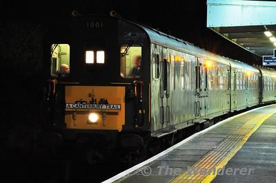 Hastings Diesels Canterbury Trail Saturday 24th November 2012