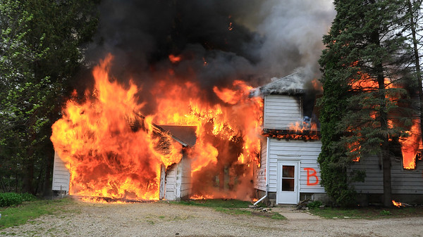 Woodstock-South St House Burn - May 11, 2019