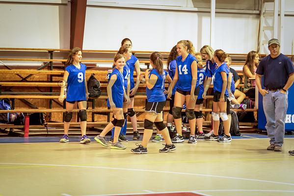 HHA B-team Volleyball 9-15-16