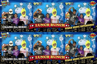 Cedar Grove Lunch Bunch Superhero's