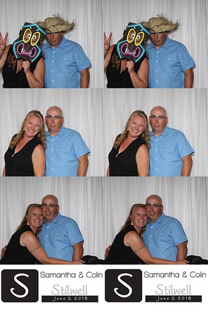 2018-06-02 - Samantha (Gregory) & Colin Stilwell Wedding Photo Booth