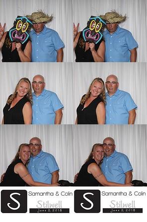 2018-06-02 - Samantha (Gregory) & Colin Stilwell Wedding Photo Booth