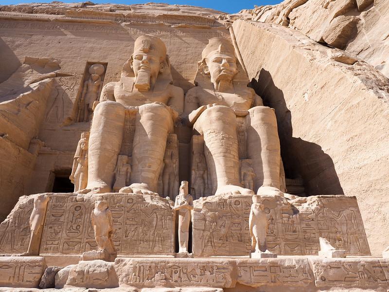 Ramses II statues at Abu Simbel