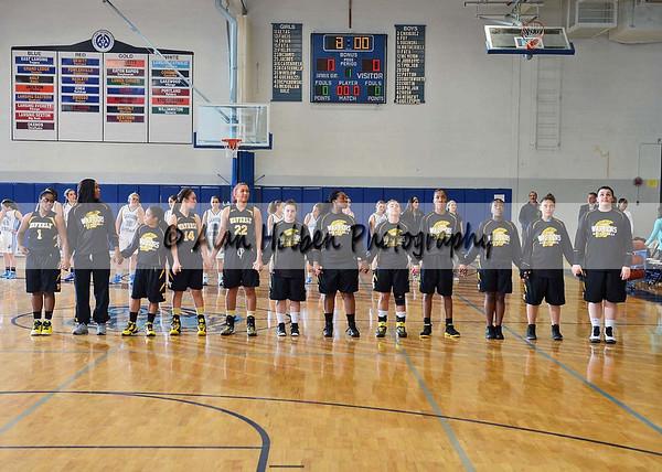 Girls Varsity Basketball Waverly at Lansing Catholic