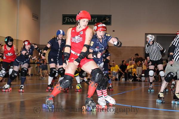 16 AUG 09 RI Riveters vs Detriot Roller Girls