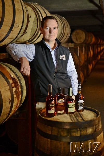 Master Distiller Denny Potter of Heaven Hill Brands, December 9, 2014. Louisville, KY.