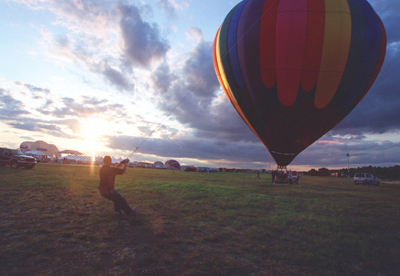 Waldbaums Music and Balloon Festival at Brookhaven Airport