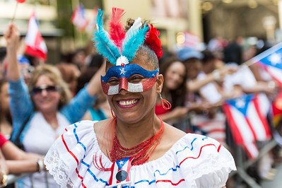 The 2014 Puerto Rican Day Parade celebration in New York City
