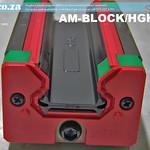 SKU: AM-BLOCK/HGH25, HiWin HGH25 Series 25R Rail Sqaure Linear Guideway Carriage for EasyRoute Heavy Duty CNC Route