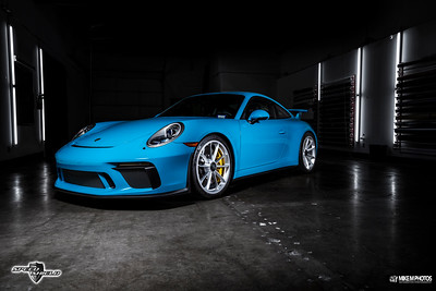 Speed Shield Mexico Blue GT3