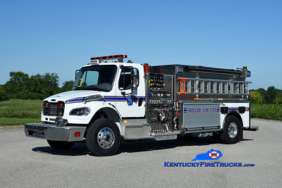 Shelby County Tankers and Brush Units