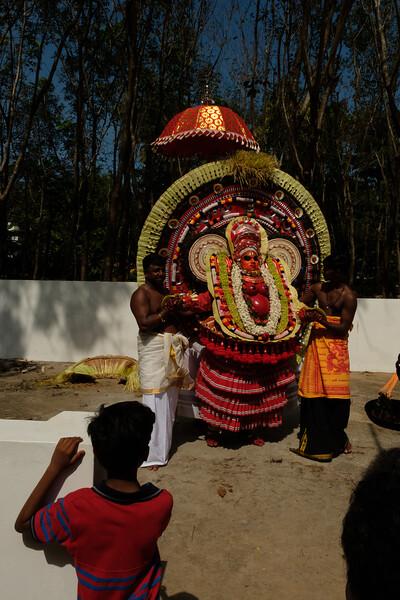 Raktha Chamundi Theyyam