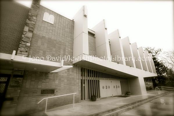 AUSTRALIA, Victoria, Melbourne. Caulfield Hebrew Congregation. (8.2010)