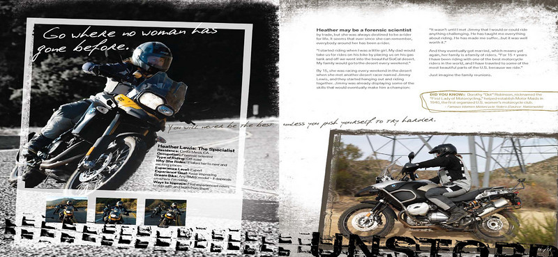 Riding is too much fun to be left to the guys!