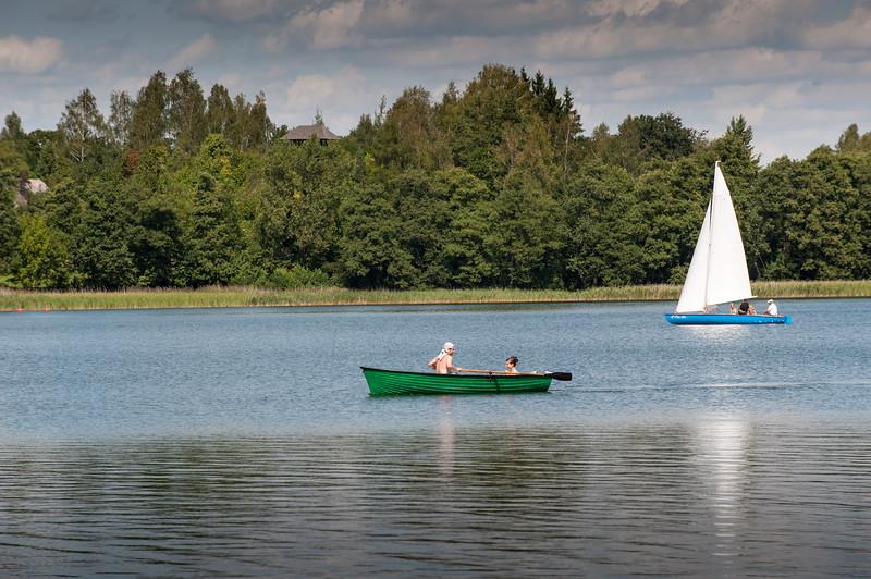 Lake Wigry, Poland