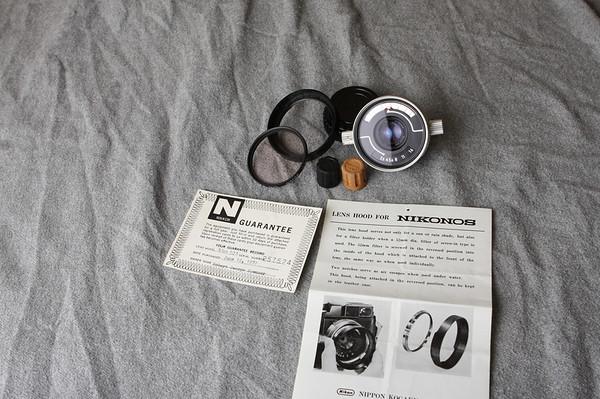 W-Nikkor f=35mm 1:2.5 Nikonos Lens - SOLD