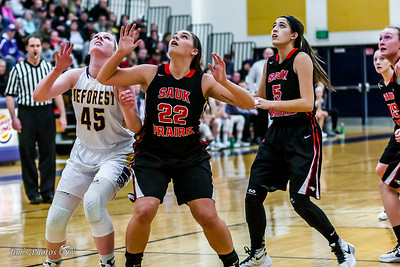 HS Sports - DeForest Girls Basketball [d] Feb 26, 2016