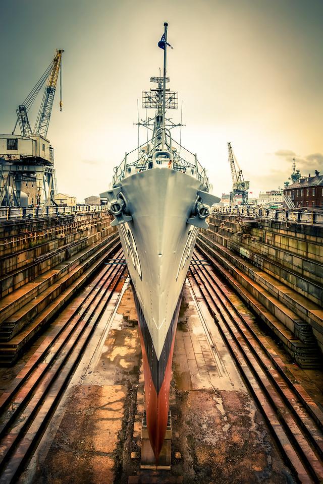 Travel Photography Blog - USA. Boston. Charlestown Dry Dock