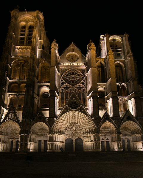 Bourges, Saint Stephen Cathedral West Facade