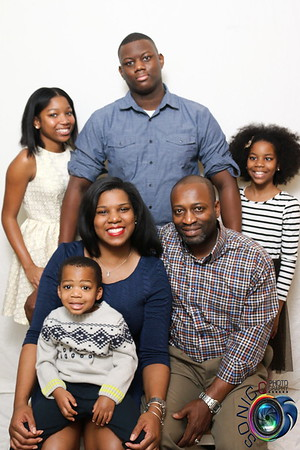 The Percell's Christmas Portrait