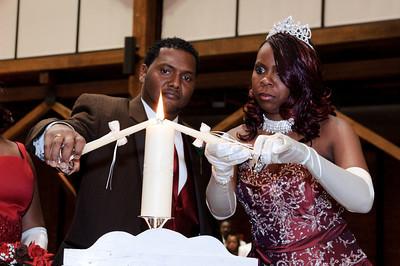 Alecia & Rickey Jr. Wedding - Ceremony
