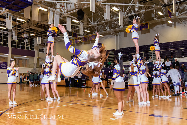 Broughton boys varsity basketball vs. Leesville. January 8, 2019. 750_1685