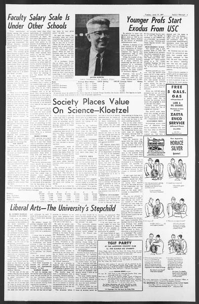 Daily Trojan, Vol. 58, No. 111, April 25, 1967