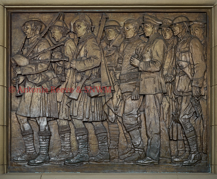 SNWM Shrine Frieze, 2nd right panel, east