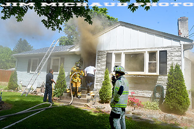 Dwelling Fire - Thrall Rd, Vernon, CT - 5/27/20