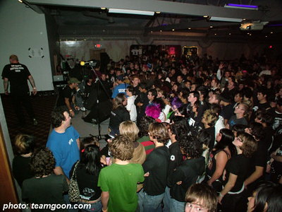 The Adicts - Bang Sugar Bang - So Unloved - The Diffs - at The Grand Palace - El Cajon, CA - November 8, 2005