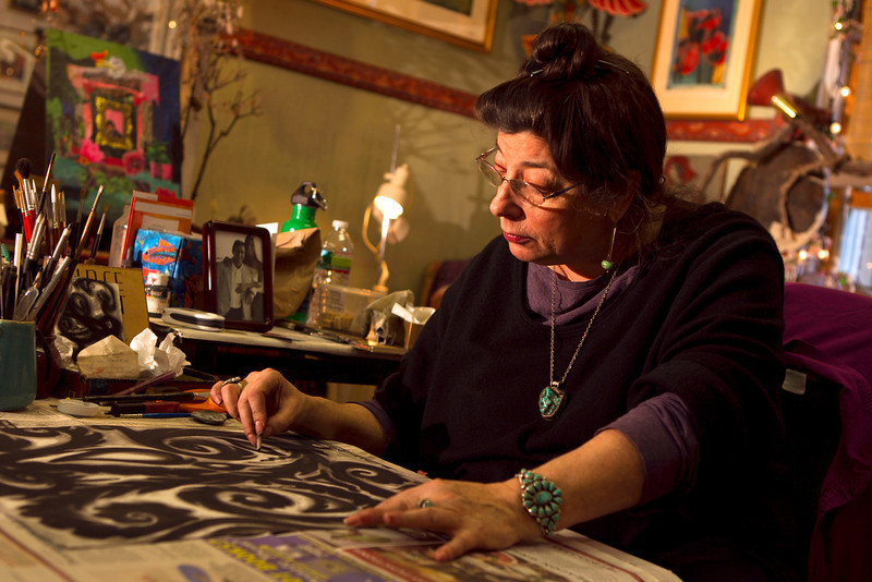 Mary Ann Gore - Painter   Emerson Umbrella Center for the Arts