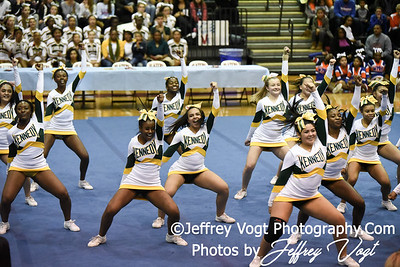 11-12-2016 Kennedy HS at MCPS Cheerleading Championship Division 3 at Montgomery Blair HS, Photos by Jeffrey Vogt Photography