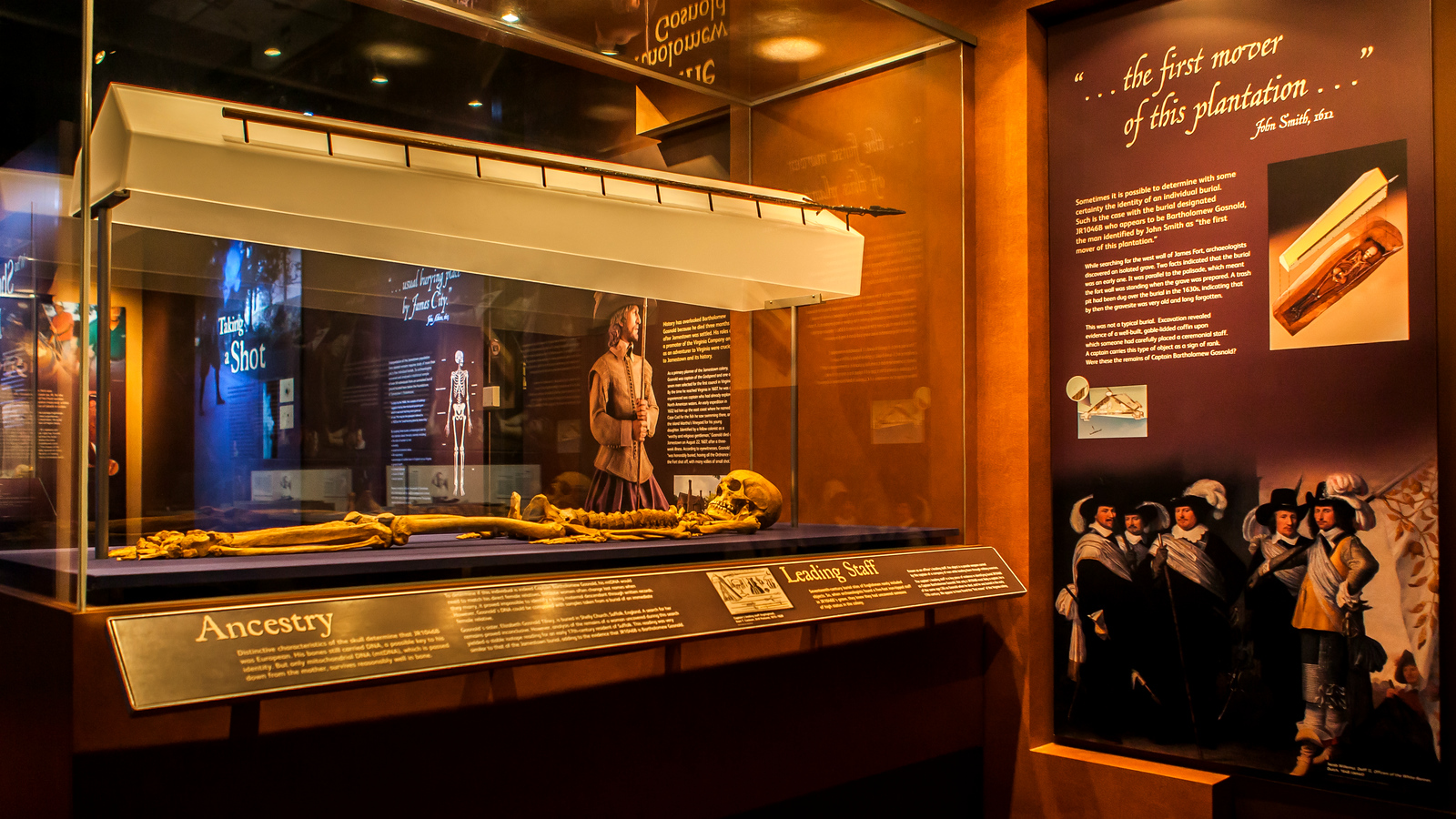 詹姆斯敦历史博物馆,图文并茂感触颇深