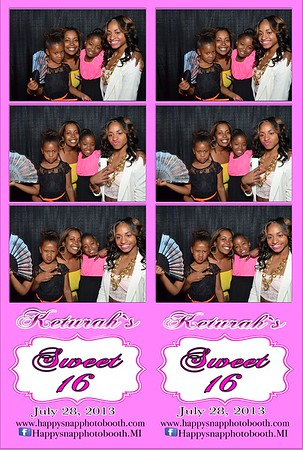 Keturah`s Sweet 16 Party