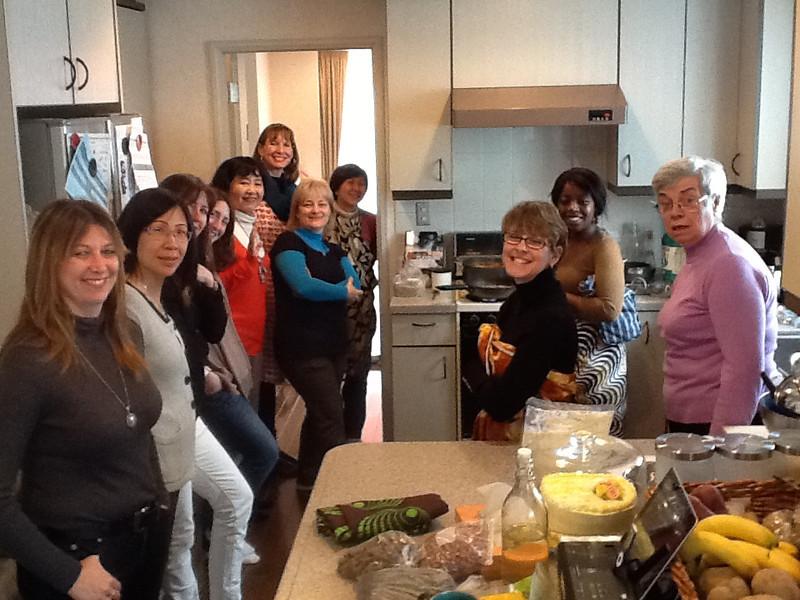 Zambian Cooking Class March 8, 2012