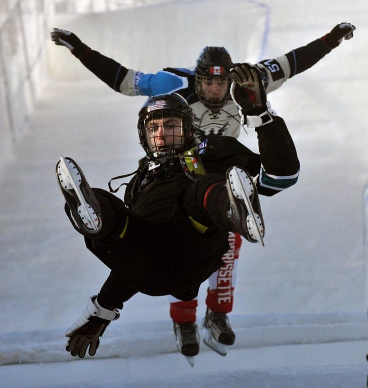 ". <p>3. (tie) CRASHED ICE <p>It�s all great fun until someone fractures a skull. (unranked) <p><b><a href=\'http://www.twincities.com/localnews/ci_25178952/crashed-ice-and-prayer-priests-take-red-bull\' target=""_blank\""> HUH?</a></b> <p>   (Pioneer Press: Chris Polydoroff)"