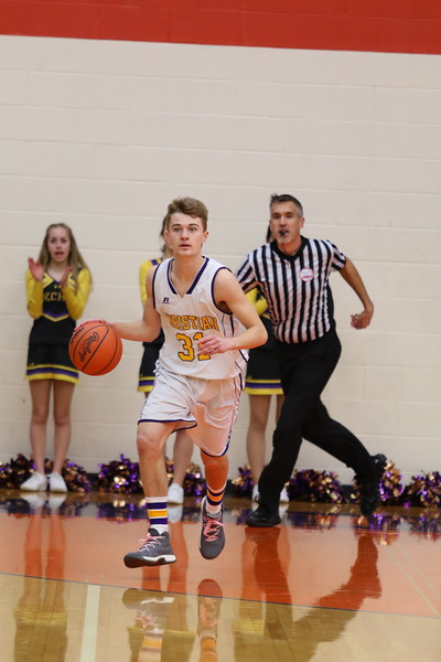 Basketball Boys Varsity Districts vs Lakeside - KCHS - 3/7/18
